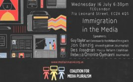 Immigration in the Media debate 16/7/14