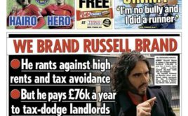 Hypocrites! The Sun and Russell Brand