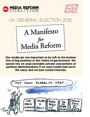 A Manifesto for Media Reform (2015)