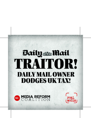 Daily Mail Traitor Sticker