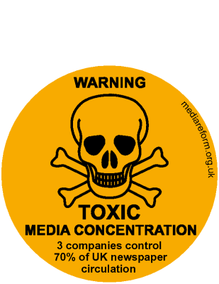 Toxic Media Sticker