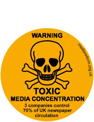 Toxic Media Sticker