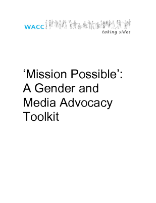 Mission Possible – A Gender and Media Advocacy Toolkit (2005)