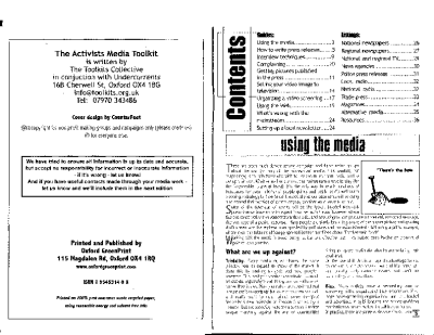 The Activists Media Toolkit (2003)