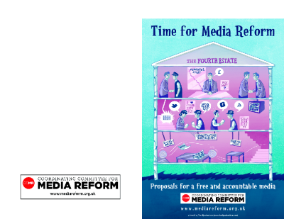 Time for Media Reform – Proposals for a Free and Accountable Media (2012)