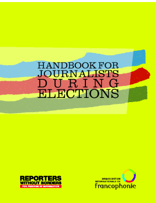 Handbook for Journalists during Elections (2014)