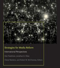 New book: Strategies for Media Reform – International Perspectives