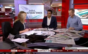 What the BBC has to say about the papers