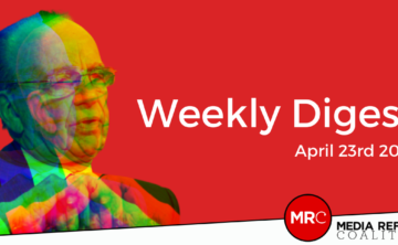 Media Reform Coalition - Weekly Digest - April 23rd 2021 - Featured Image
